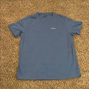 Men's PATAGONIA Blue T-Shirt XL